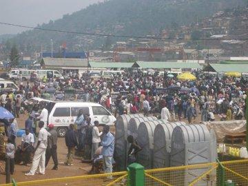 8000 jeunes africains se recueillent au Rwanda