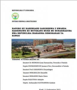 Pour le parlement rwandais, le Rwanda est victime de la crise en RDC