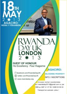 Affiche Rwanda Day