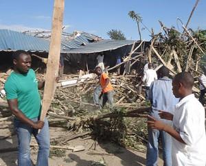 Immeuble effondré à Nyagatare. source: newtimes