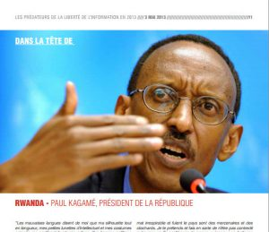 Liberté de la presse: Kagame toujours parmi les prédateurs