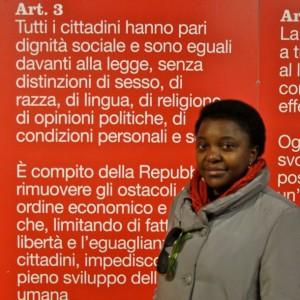 Cécile Kyenge, première femme noire ministre en Italie, et après ?