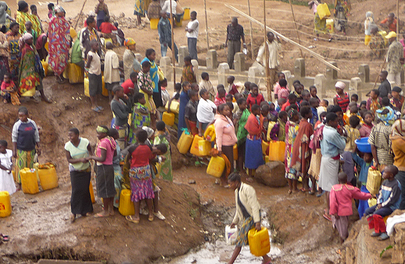 Faiblesses d'accès au service d'eau potable en RDC : briser le paradoxe