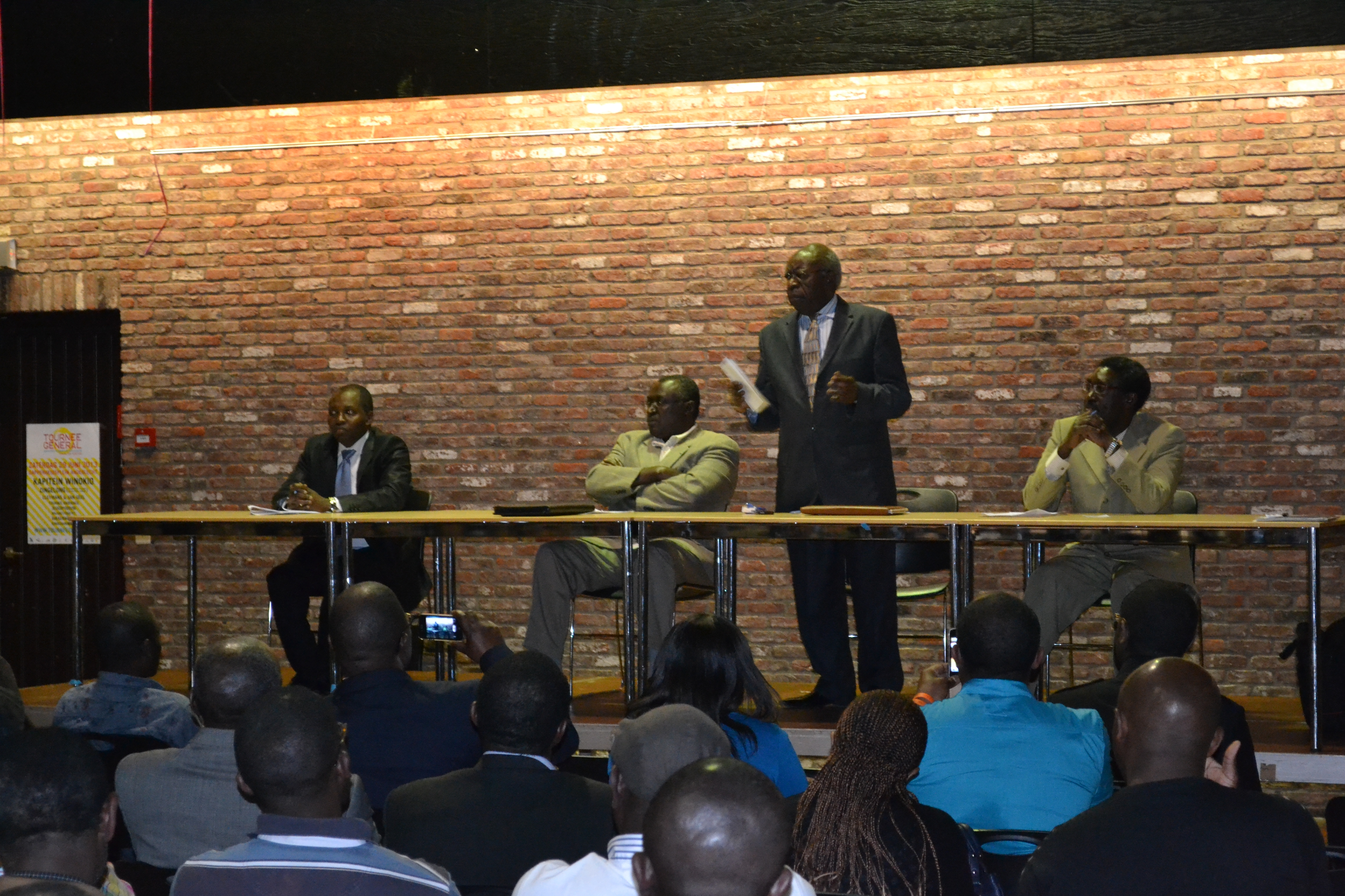 « Le Rwanda vous appartient » Faustin Twagiramungu