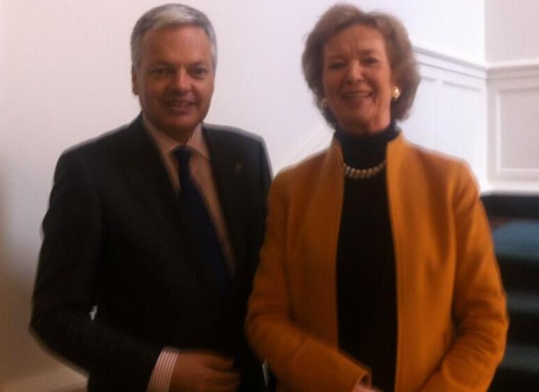 Rwanda – RDC : Que retenir de la rencontre entre Didier Reynders et Mary Robinson ?