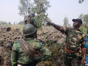 le colonel Mamadou Ndala, chef des operations militaires des FARDC au Nord-Kivu