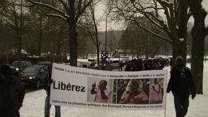 Rwanda: Sit-in spécial en soutien à Victoire Ingabire à Bruxelles et à La Haye