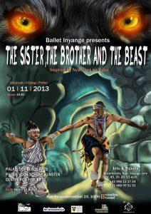 « La sœur, le frère et la bête » : le nouveau spectacle du ballet Inyange
