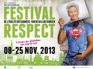 Bruxelles : La 4ème édition du festival de l'égalité des chances pour le respect intergénérationnel