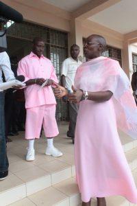 Victoire Ingabire le jour de sa condamntation le 13 décembre 2013 - source: igihe.com