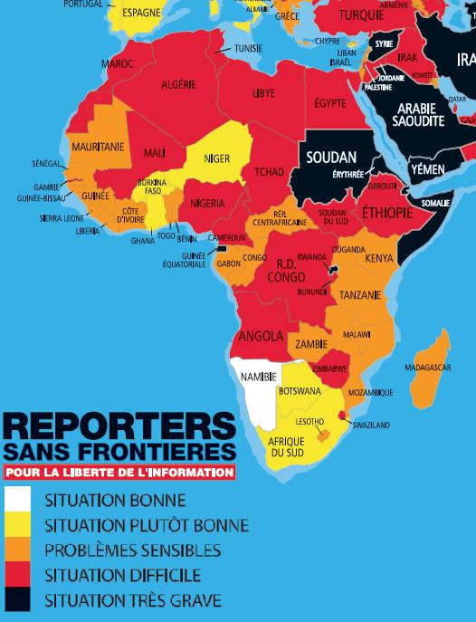 Afrique des Grands Lacs : La liberté de la presse mise à mal