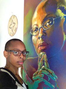 Raïssa, the Victoire Ingabire's daughter. Copyright Jambonews