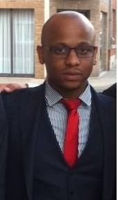 Photo : Brave H. , Président du conseil d'administration de l' asbl Jambo.