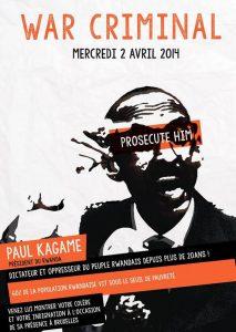 Bruxelles : Forte mobilisation contre la présence de Paul Kagame au sommet UE- Afrique.
