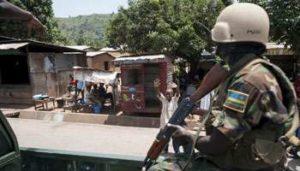 Soldat rwandais de la Misca