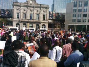 Belgique – Rwanda: Manifestation contre Kagame devant le Parlement européen
