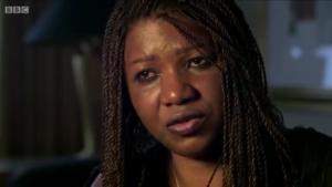 Marie Bamutese dans le documentaire de BBC Two The untold story