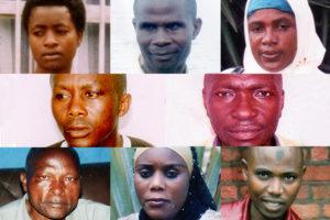 Victimes de disparition forcées au Rwanda