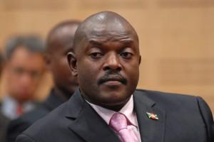 Pierre Nkurunziza, Président du Burundi depuis 2005