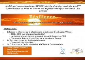 Belgique-Rwanda: La reconstruction au cœur de la 6ème commémoration de Jambo