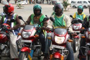 les motards de Kigali