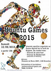 """Ubuntu Games 2015"", le sport au service de l'humanisme"