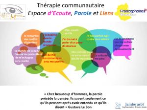Bruxelles: Thérapie communautaire ou panser les plaies mal cicatrisées