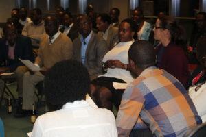 """""""Thérapie communautaire organisé lors de la 21ème Commémoration des tragédies des Grands-lacs par Jambo asbl"""""""