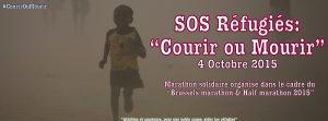 «Courir ou mourir»: «SOS-Refugies» a l'assaut du Marathon de Bruxelles