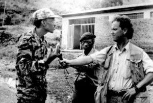 Paul Kagame interviewé par un media international peu après la mort du général Rwigema