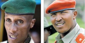 Laurent Nkunda et Bosco Ntaganda