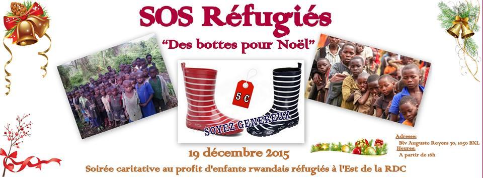 Les enfants rwandais réfugiés à l'Est de la RDC ont reçu leur cadeau de Noël