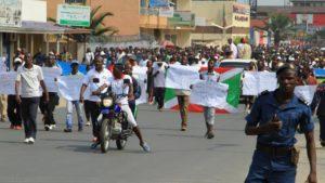 Manifestation de masse ce samedi 13 février à Bujumbura pour pour dénoncer les « actes d'agression » du Rwanda et de son président Paul Kagame.
