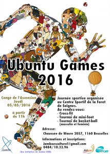 Bruxelles: Ubuntu Games 2016, le sport comme école de vie
