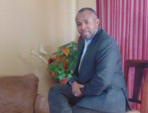Freddy Usabuwera, membre et porte-parole d'Amahoriwacu2017 au Canada