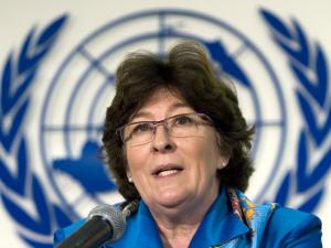Louise Arbour, ex-procureur général du Tribunal pénal international pour le Rwanda