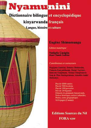 Nyamunini: L'encyclopédie français-kinyarwanda sur le point de paraitre
