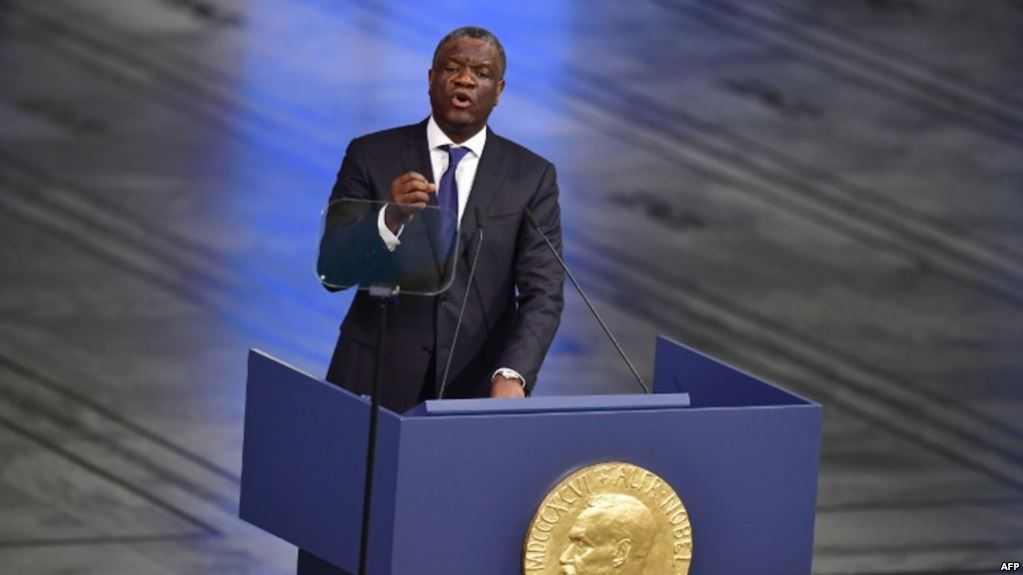 RDC– Denis Mukwege:«Prenons notre destin en mains»