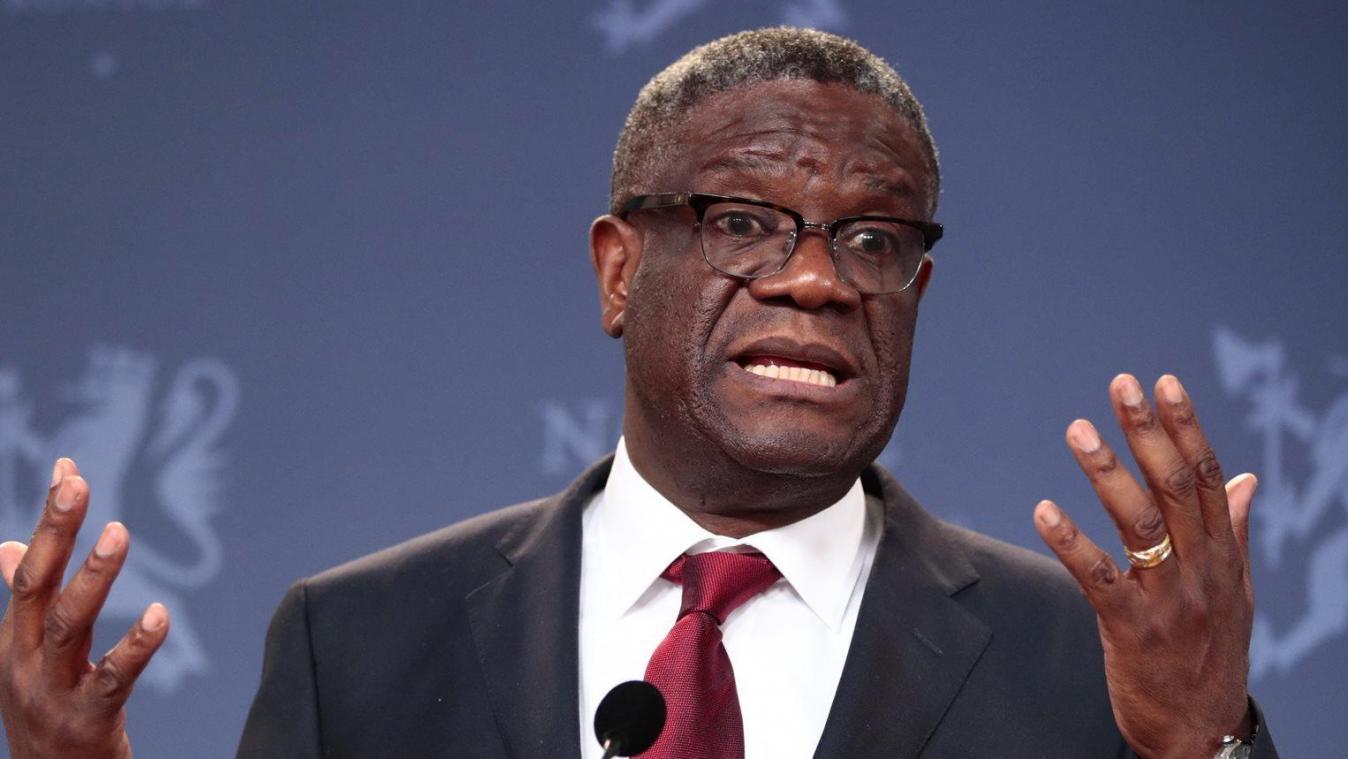RDC – Denis Mukwege appelle à l'établissement d'un tribunal pénal international