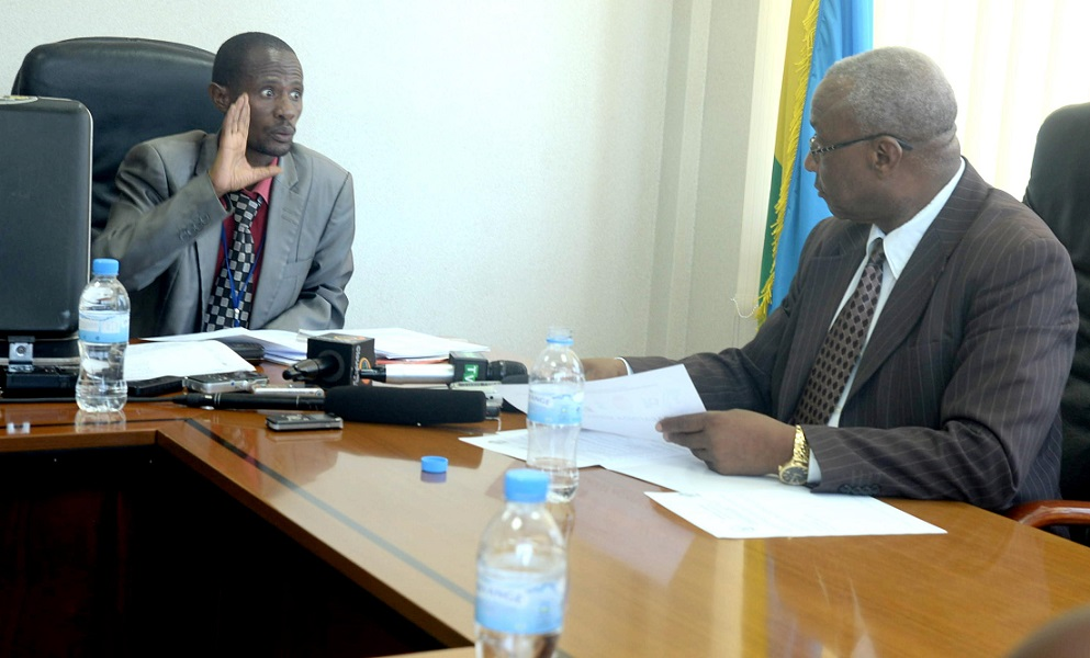 Rwanda : Barafinda Sekikubo Fred monte au créneau