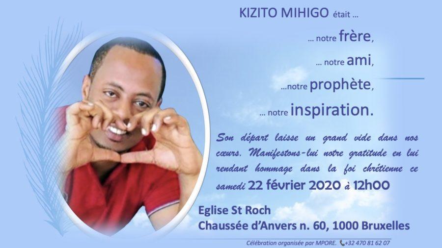 Belgique : ce Samedi 22 février à Bruxelles, une mobilisation inédite en mémoire de Kizito Mihigo