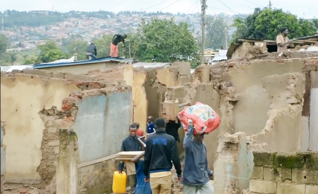 Kigali reprend l'impitoyable destruction des habitations malgré le Covid-19