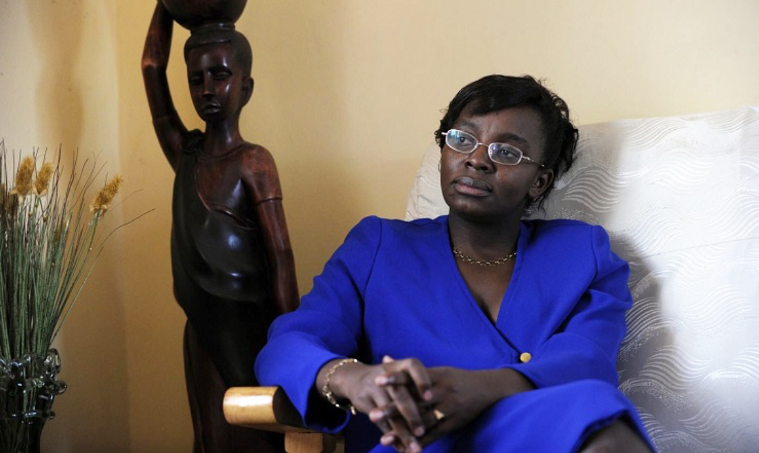 Mrs Victoire Ingabire a victim of bravery and resilience in Rwanda