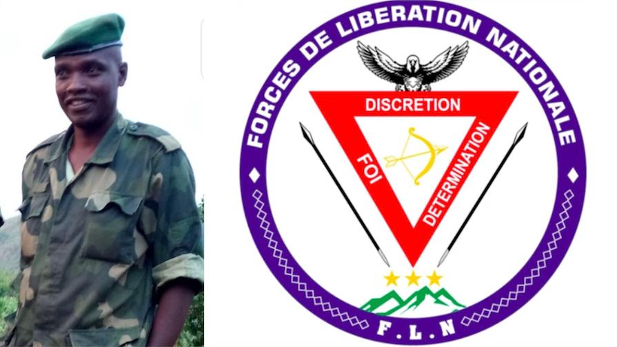 Rwanda - Général Jeva (FLN) : \